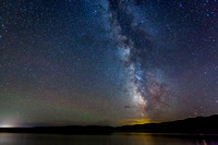 Milky Way over Hegben Lake