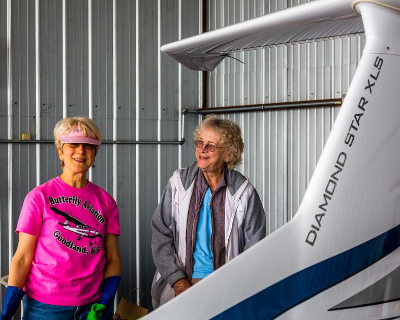 Nancy Rohr and Ginny Batzel